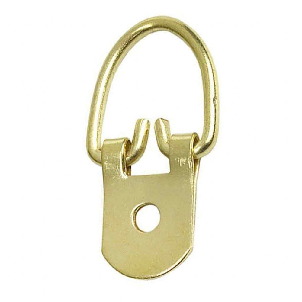 Heavy Duty Hanger - 1 Hole Brass Plated